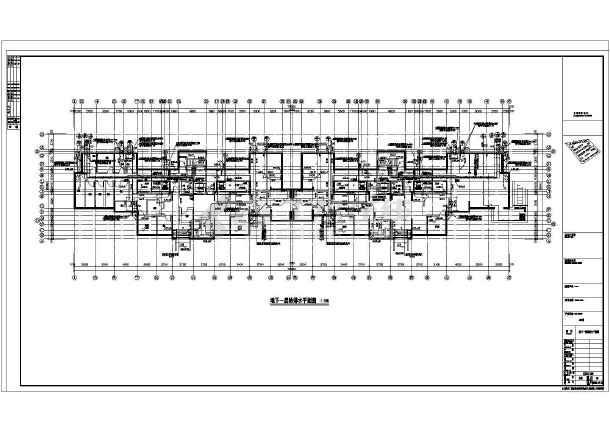 江苏高层建筑给排水施工图纸-图1