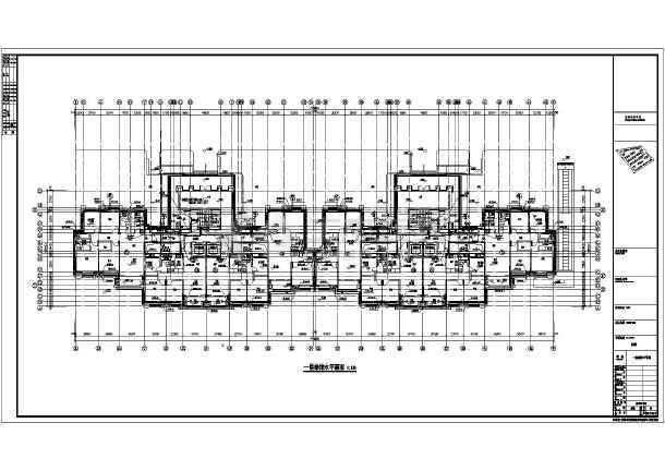 江苏高层建筑给排水施工图纸-图2