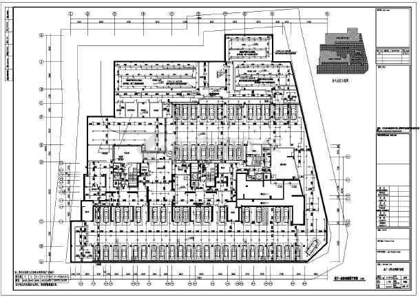 江苏高层商住楼给排水施工图-图2