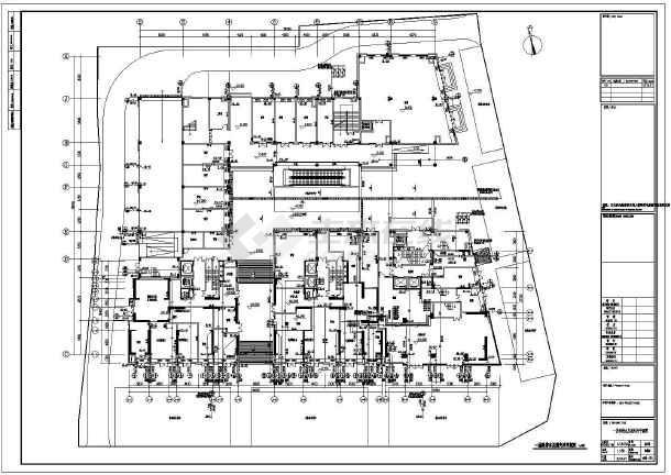 江苏高层商住楼给排水施工图-图3