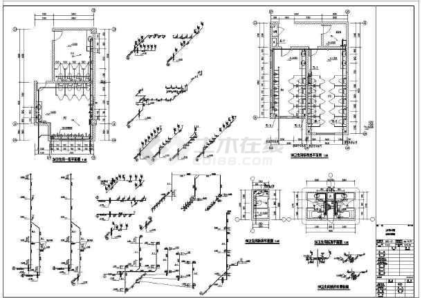 江苏监控中心给排水施工图-图2