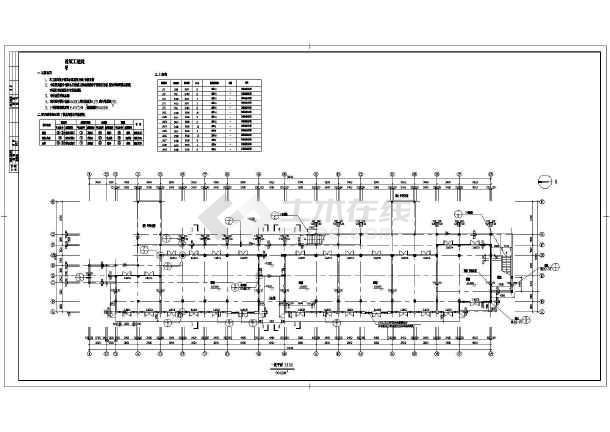 某商业街建筑设计CAD施工图-图1