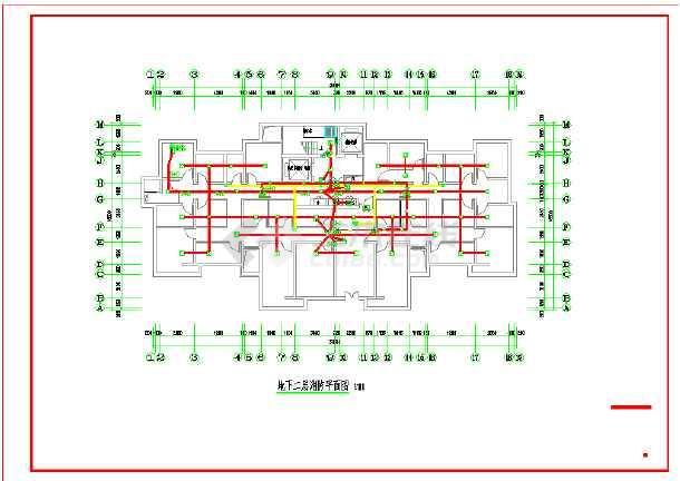 一套基于河北的高层住宅电气施工图-图2