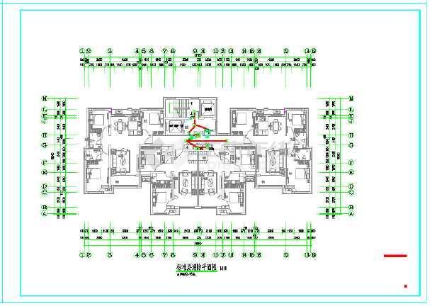 一套基于河北的高层住宅电气施工图-图3