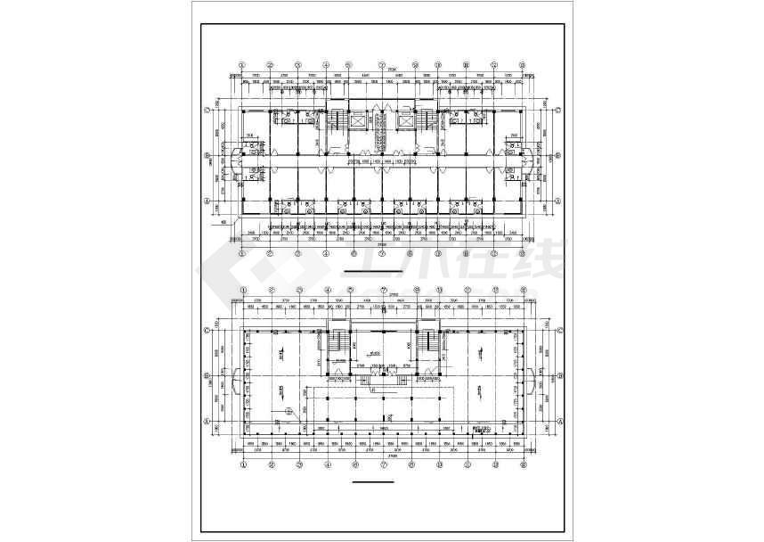 某地详细商业综合楼建筑施工图-图2