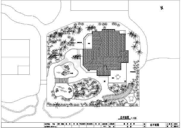 某地特色小别墅建筑设计方案图-图1