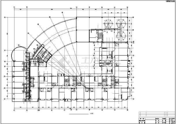 长春某广场复杂高层暖通全图-图1