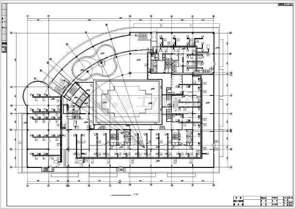 长春某广场复杂高层暖通全图-图2
