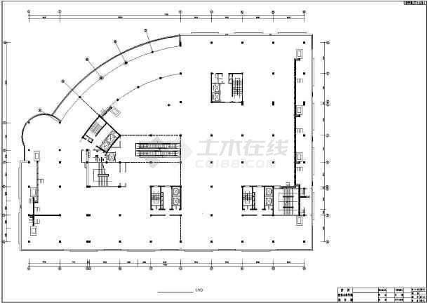 长春某广场复杂高层暖通全图-图3