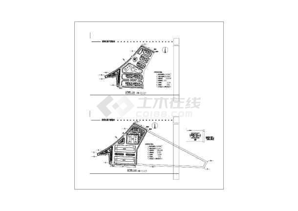 某地电器厂领导生活区详细建筑方案cad平面施工图-图1