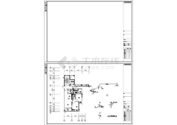 江苏高层住宅楼及地下室给排水施工图-图2