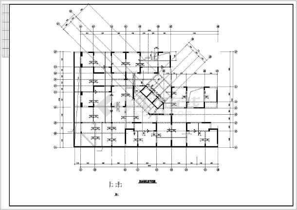 某小区剪力墙住宅结构设计图-图2