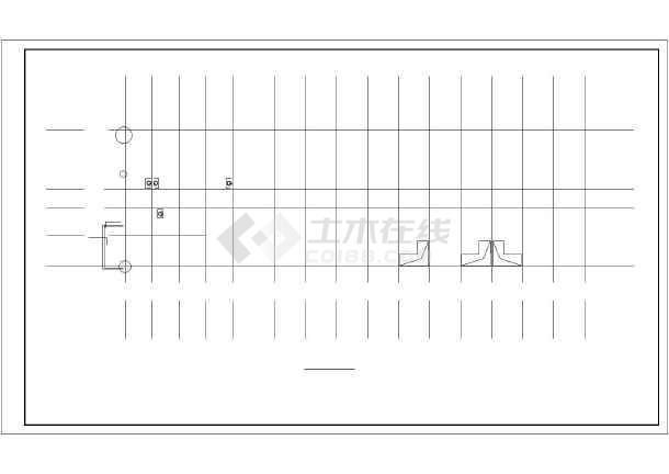 河北多层住宅楼水暖施工图纸-图3