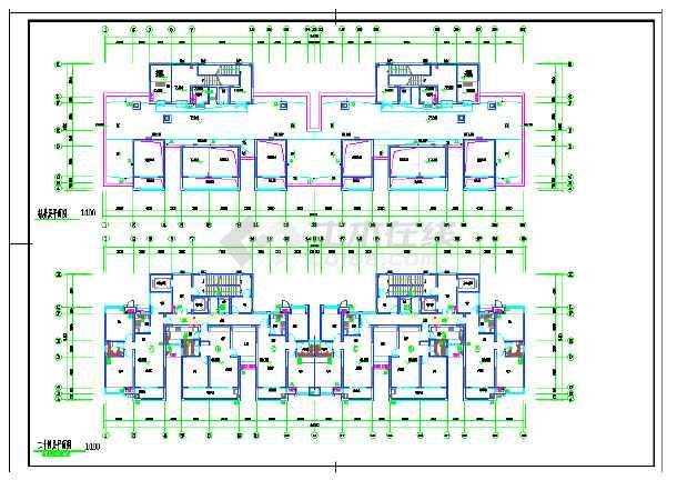 江苏某小区一类高层住宅楼给排水-图1