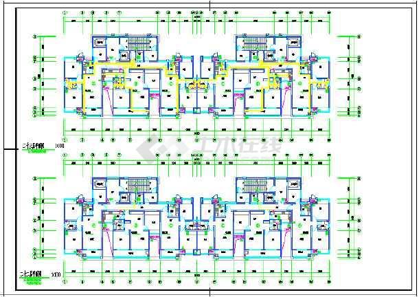江苏某小区一类高层住宅楼给排水-图2