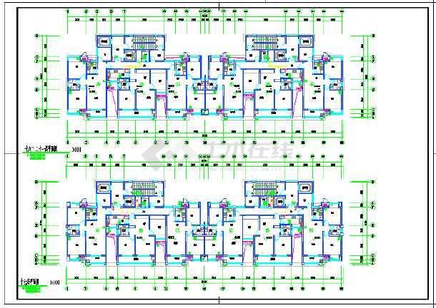 江苏某小区一类高层住宅楼给排水-图3