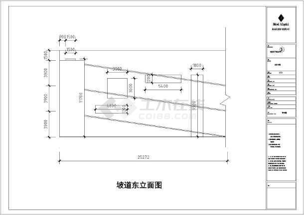 某房产公司多层钢结构工程CAD图纸-图一