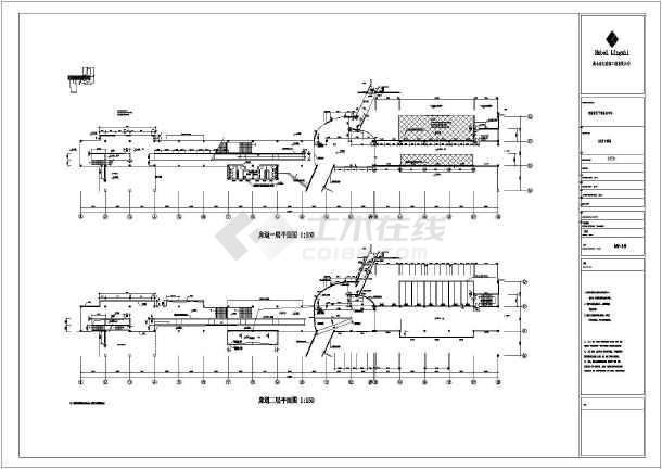 某房产公司多层钢结构工程CAD图纸-图2
