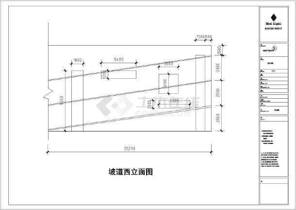 某房产公司多层钢结构工程CAD图纸-图3