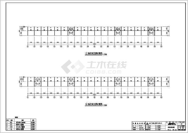 某地工程建筑结构CAD图纸-图3