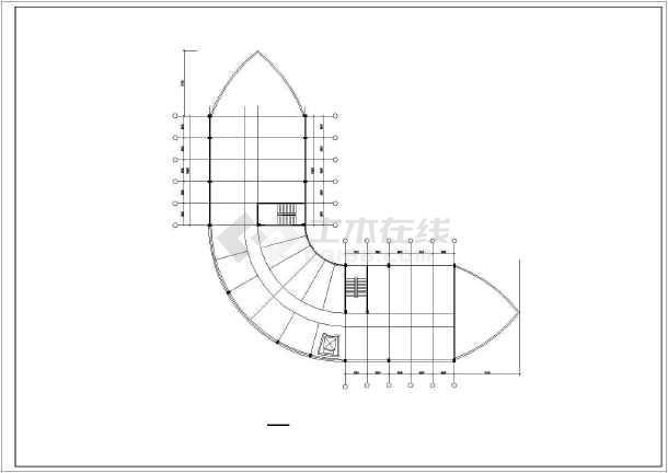 某市某大酒店建筑设计方案图(共13张)-图1