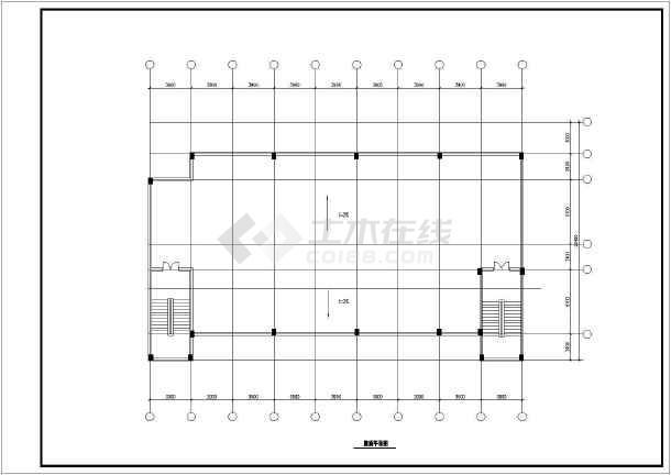 某市某大酒店建筑设计方案图(共13张)-图2