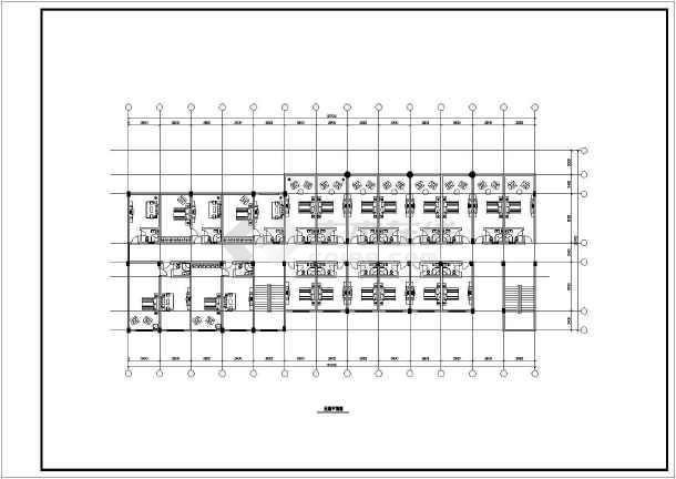某市某大酒店建筑设计方案图(共13张)-图3