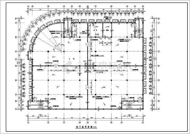 商场建筑全套设计CAD施工图-图1