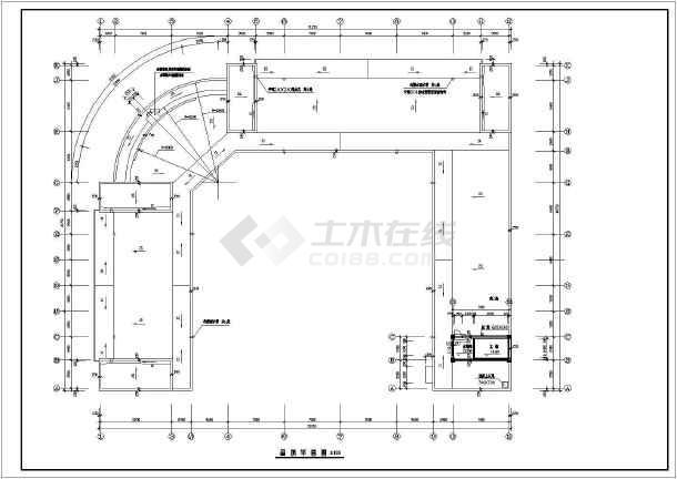 商场建筑全套设计CAD施工图-图3