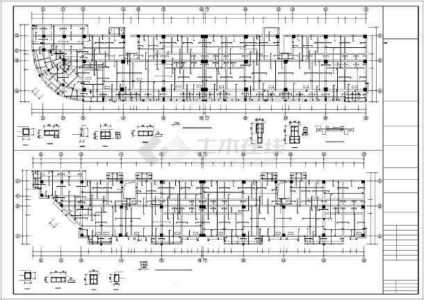 [福建]某生产队安置房建筑结构设计图-图2
