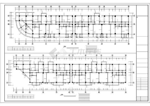 [福建]某生产队安置房建筑结构设计图-图3