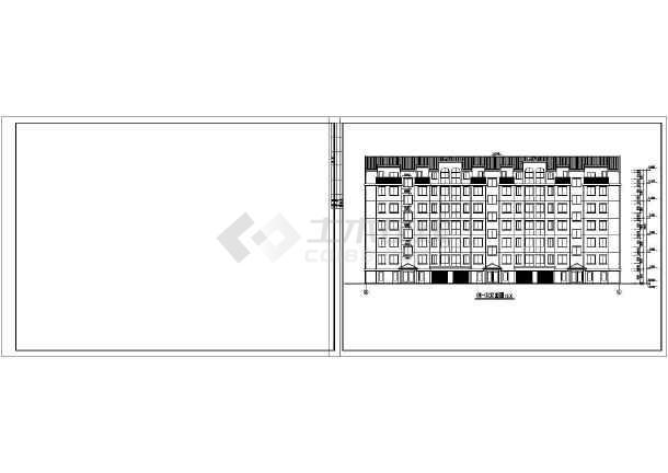 某地单元式多层住宅建筑施工图-图1