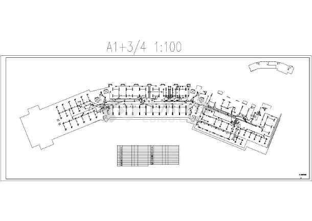 [山东]二十层度假酒店完整强电施工图纸-图1