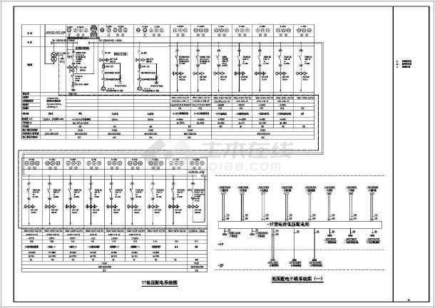 [山东]二十层度假酒店完整强电施工图纸-图2