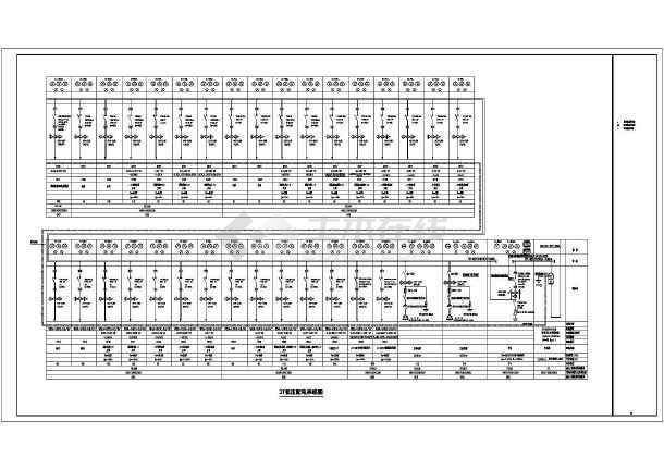 [山东]二十层度假酒店完整强电施工图纸-图3