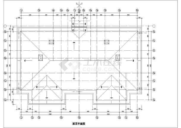某地某酒店式公寓建筑施工图(共5张)-图2