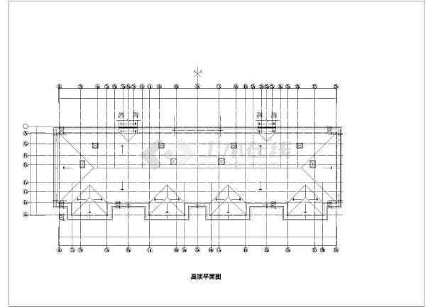 某地某酒店式公寓建筑施工图(共5张)-图3