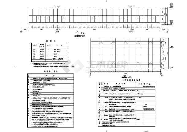 点击查看某商业街塔楼建筑施工设计CAD图第1张大图