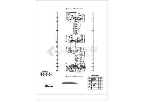 某综合楼暖通施工图-图1