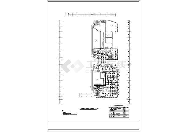 某综合楼暖通施工图-图2