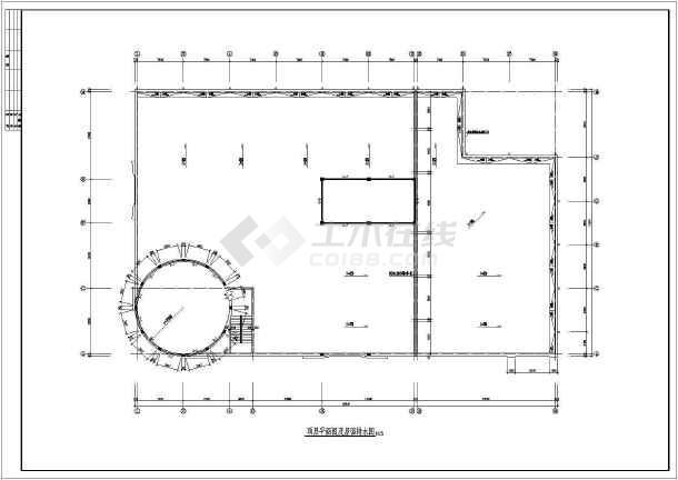 全套商场建筑CAD设计方案图-图2