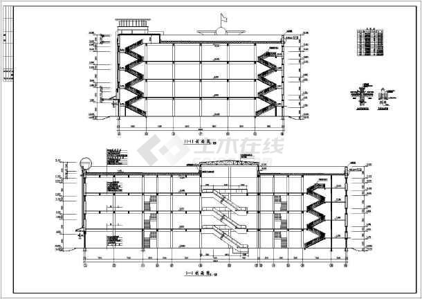 全套商场建筑CAD设计方案图-图3