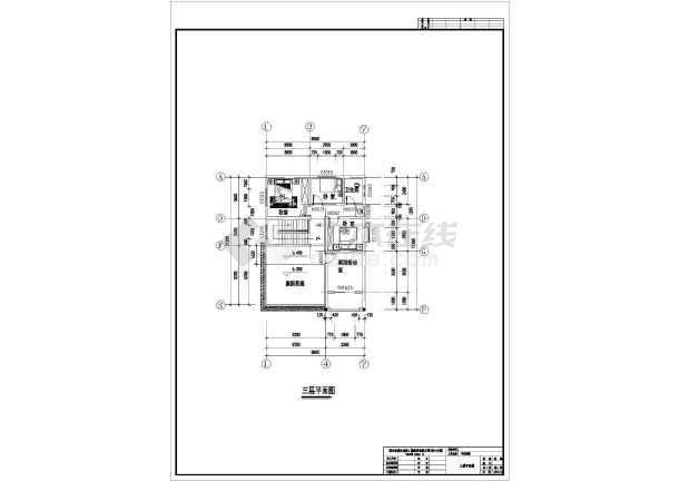 某三层豪华别墅建筑设计方案图-图1