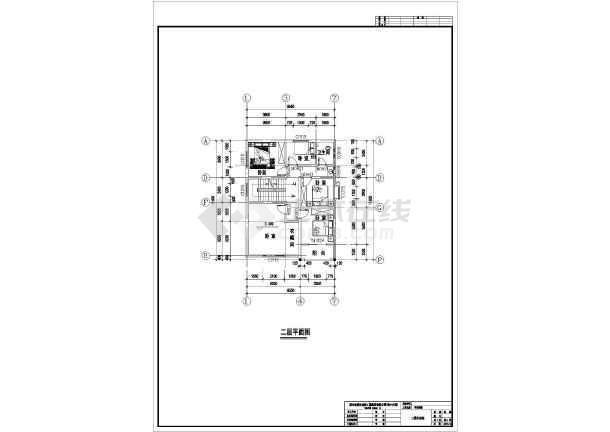 某三层豪华别墅建筑设计方案图-图2