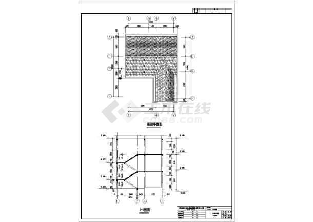 某三层豪华别墅建筑设计方案图-图3