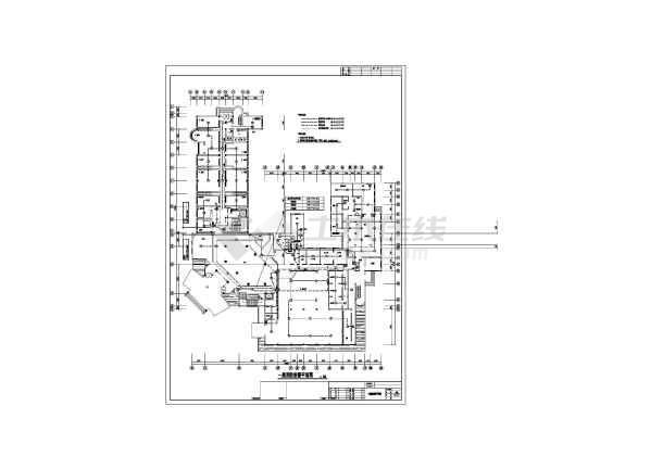 六层酒店改造工程电气施工图纸-图1