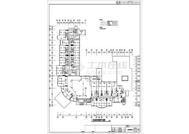 六层酒店改造工程电气施工图纸-图3