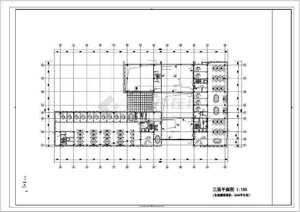 [上海]多功能办公楼给排水施工图-图3