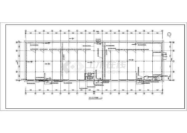 某地区厂房照明车间电气施工图(含设计说明)-图3