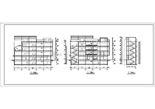 某地商场建筑全套CAD设计施工图-图1
